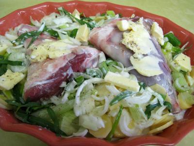 Souris d'agneau aux pommes de terre et aux oignons - 7.1