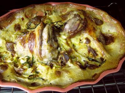 Souris d'agneau aux pommes de terre et aux oignons - 7.3