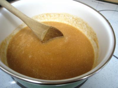 Tarte pascale au café et son coulis de poires - 9.2