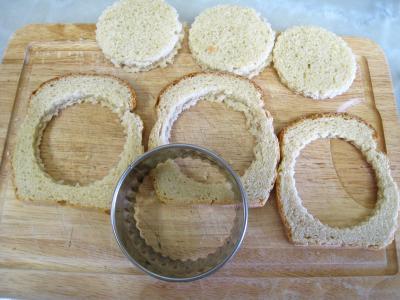 Tartines à l'oeuf et au gruyère - 1.3