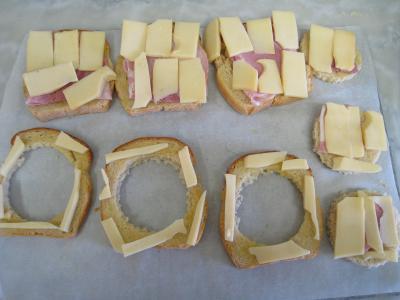 Tartines à l'oeuf et au gruyère - 4.1