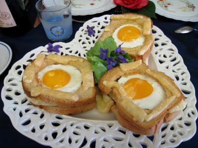 Tartines à l'oeuf et au gruyère - 6.3