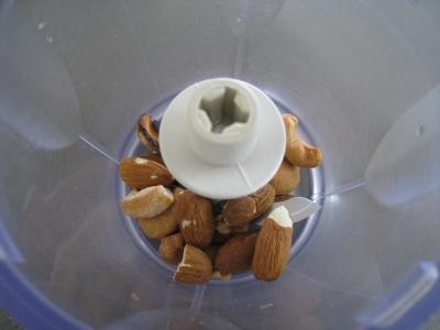 Verrines de poires aux noix de cajou et aux amandes - 1.1