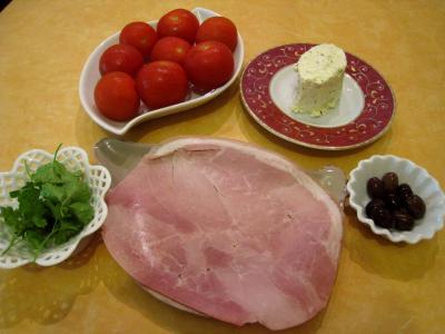 Ingrédients pour la recette : Tomates cerises apéritives