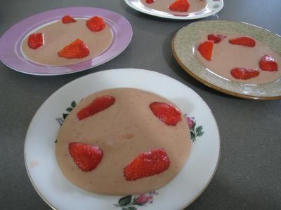 Sauce glacée aux fraises - 5.4