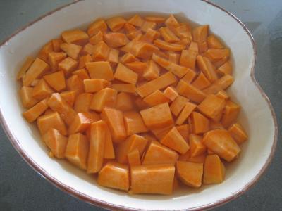 Sauté de chou pointu aux patates douces - 2.3