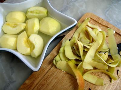 Boudin aux pommes et aux petits pois - 4.2