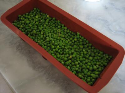 Clafoutis aux petits pois et aux poires - 7.4