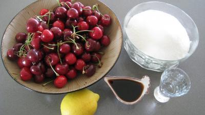 Ingrédients pour la recette : Confiture de cerises