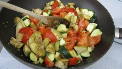 Aubergines aux épices et ces coquillettes - 7.2
