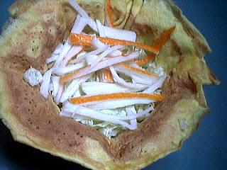 Aumônières de crêpes au chou chinois - 6.2