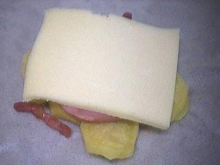 Aumônières aux pommes de terre et coulis de banane - 5.1