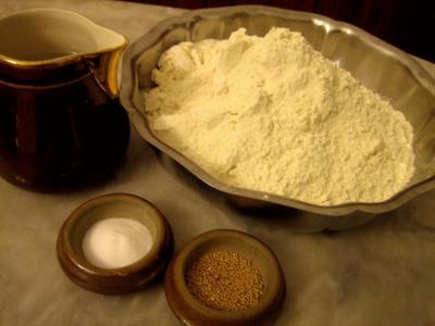Ingrédients pour la recette : Baguette en épis