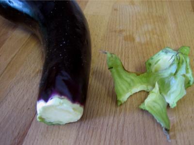 Beignets de fleurs de courgettes et aubergines - 5.4