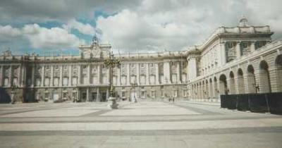 Photo : Photo du Palais Royal à Madrid en Espagne