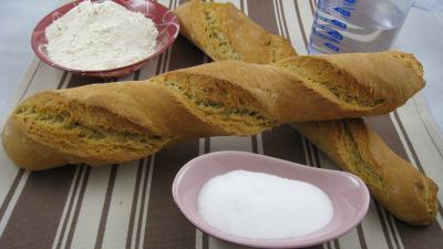 Image : recette Baguettes de pain