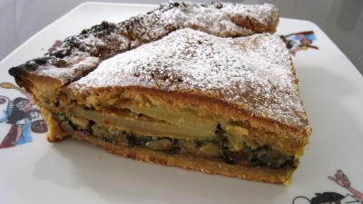 Image : recette Tourte de blettes à la niçoise