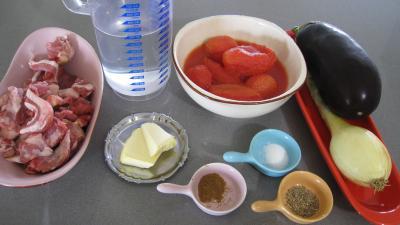 Ingrédients pour la recette : Moussaka façon turque