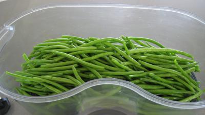 Haricots verts aux lardons - 4.4