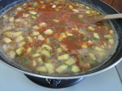 Photo : Une soupe au pistou  la nioise