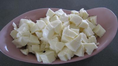 Blé gratiné aux tomates et à la Mozzarella - 4.4