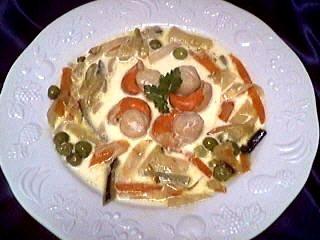 Image : recette Blanquette de coquilles Saint-Jacques