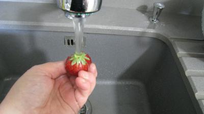 Sorbet aux fraises - 1.2