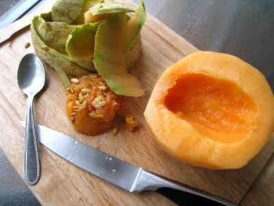 Boisson pêches et melon au gingembre - 2.1