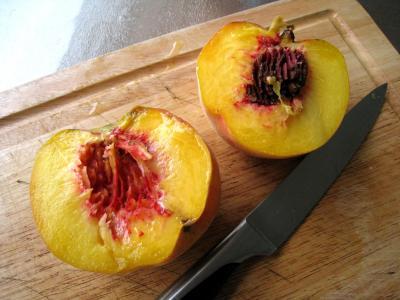 Boisson pêches et melon au gingembre - 2.3