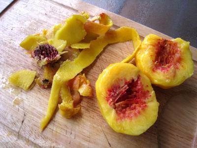 Boisson pêches et melon au gingembre - 3.1