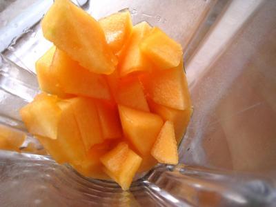 Boisson pêches et melon au gingembre - 3.3