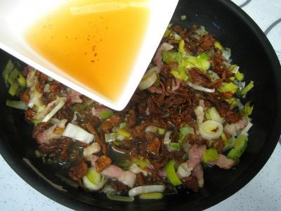 Taloa au jambon et aux girolles façon Basque - 6.2