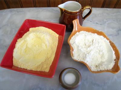 Ingrédients pour la recette : Taloa