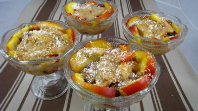 Blanquette de nectarines aux fruits rouges - 8.4