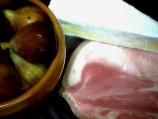 Ingrédients pour la recette : Bouchées aux figues