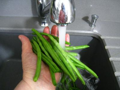 Salade de haricots verts aux noisettes - 1.2
