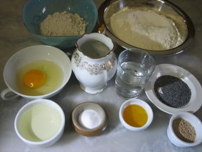Ingrédients pour la recette : Pain en casquette