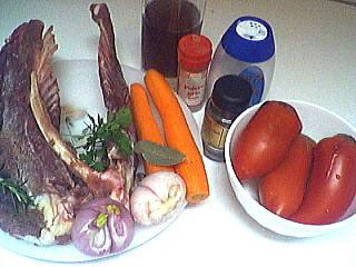 Ingrédients pour la recette : Bouillon de volaille maison