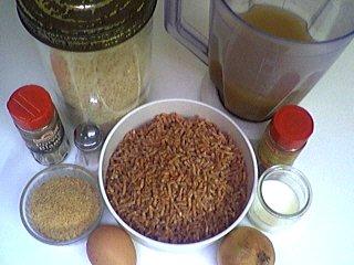 Ingrédients pour la recette : Boulettes de boeuf au riz (klopsiki)