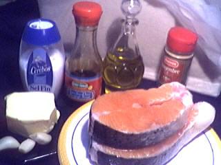 Ingrédients pour la recette : Bricks de saumon