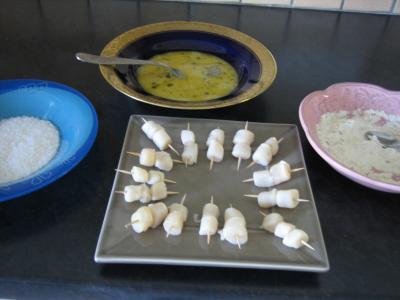Brochettes de Saint-Jacques à la noix de coco - 5.2