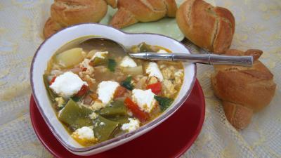 Cuisine diététique : Soupière de soupe à la brousse façon Corse