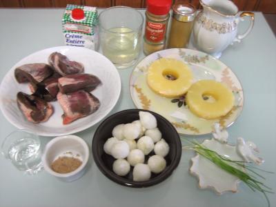 Ingrédients pour la recette : Brochettes de coeurs d'agneau