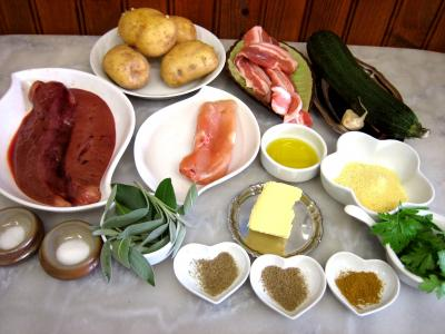 Ingrédients pour la recette : Brochettes de foie de veau aromatiques