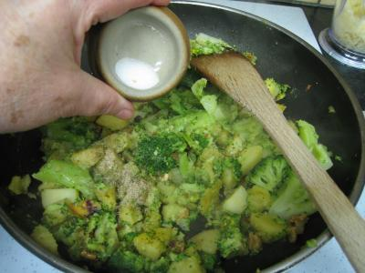 Crêpes aux brocolis et aux noix - 13.2