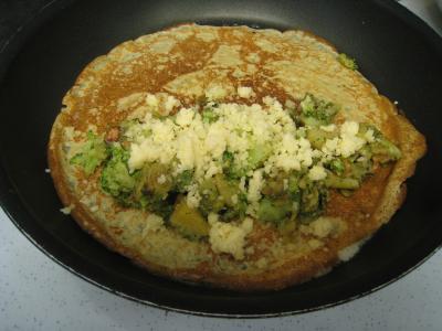 Crêpes aux brocolis et aux noix - 14.3