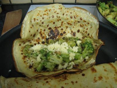 Crêpes aux brocolis et aux noix - 15.2