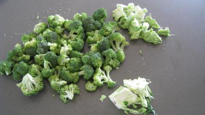 Purée de brocolis - 1.1