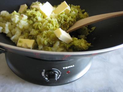 Recette Purée de brocolis