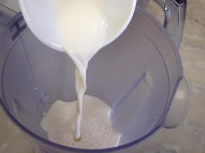 Crème glacée de prunes au yaourt - 2.1